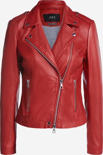 SET Lederjacke in rot, Produktansicht
