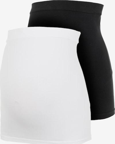 MAMALICIOUS Gaine en noir / blanc, Vue avec produit