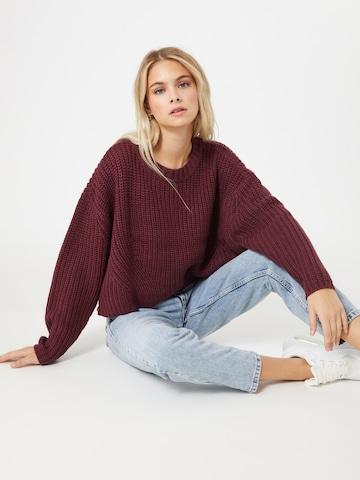 Urban Classics Pullover in color bacca
