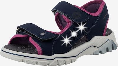RICOSTA Sandale in blau / pink, Produktansicht