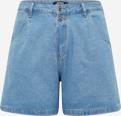 Missguided Plus Jean à pince en bleu marine, Vue avec produit