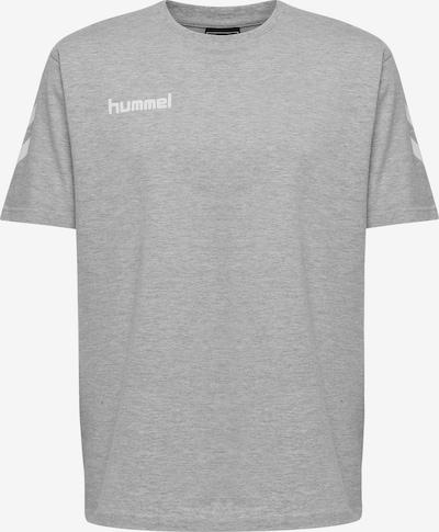 Hummel Trainingsshirt in graumeliert / weiß, Produktansicht