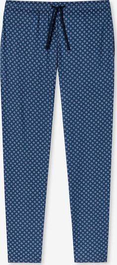 SCHIESSER Pyjamahose in blau / rot, Produktansicht