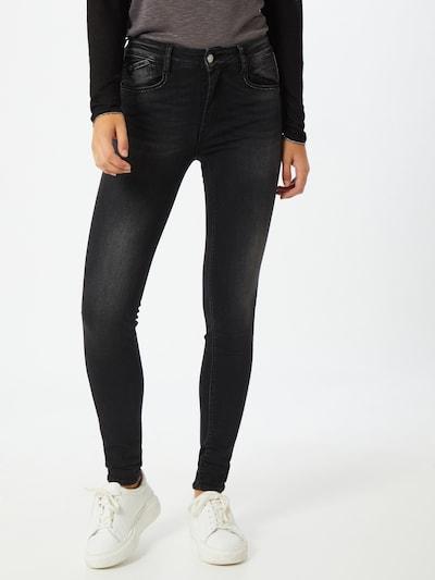 Le Temps Des Cerises Jeans 'Pulphig' in schwarz, Modelansicht