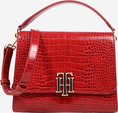 TOMMY HILFIGER Handtasche in dunkelrot / rotmeliert, Produktansicht