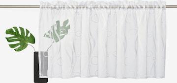 MY HOME Scheibengardine in Weiß