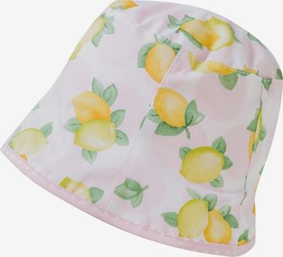 MAXIMO Hut in limone / hellgrün / pastellpink, Produktansicht