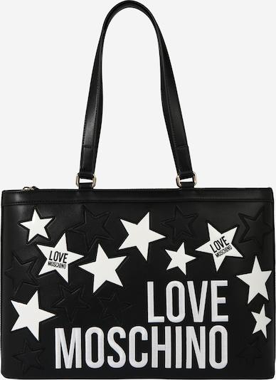 Love Moschino Shopper - čierna / biela, Produkt