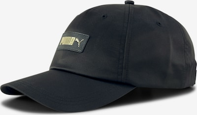 PUMA Cap 'Evolution' in gold / schwarz, Produktansicht