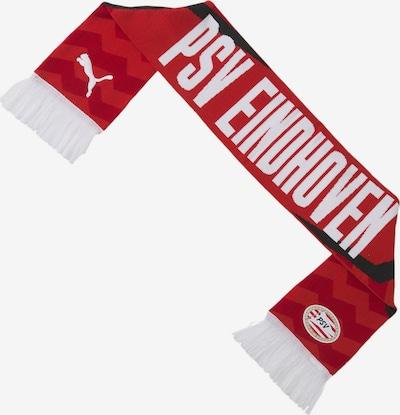 PUMA Schal 'PCV' in rot / weiß, Produktansicht