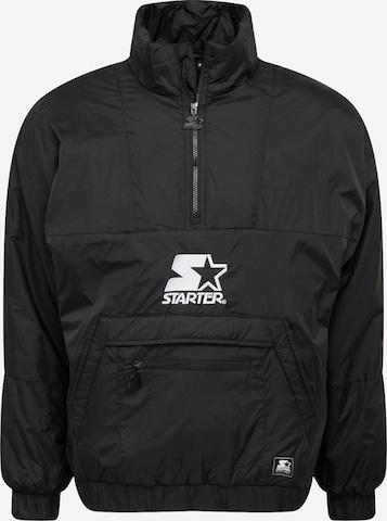 Starter Black Label Φθινοπωρινό και ανοιξιάτικο μπουφάν σε μαύρο