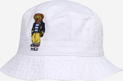POLO RALPH LAUREN Sombrero en navy / marrón / amarillo / blanco, Vista del producto
