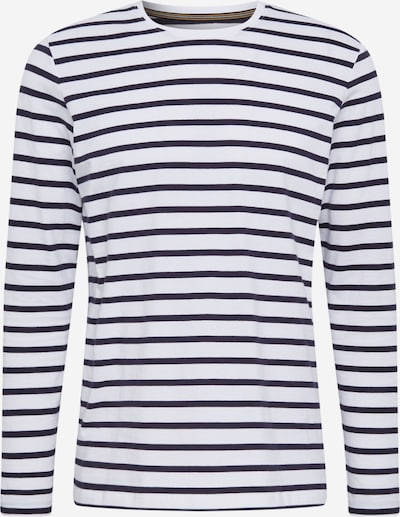 ESPRIT Shirt in de kleur Nachtblauw / Wit, Productweergave