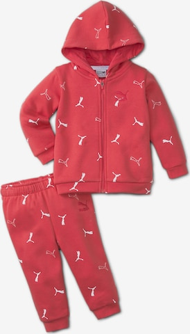 PUMA Tracksuit in Red