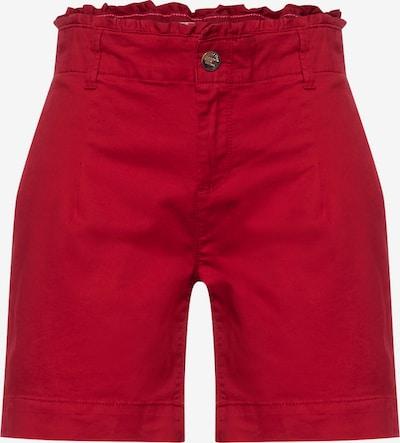STREET ONE Pantalon en rouge, Vue avec produit