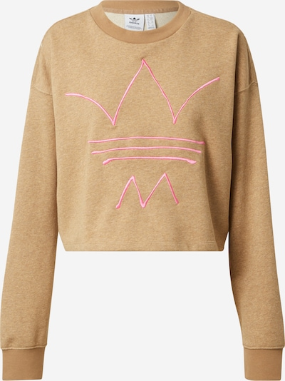 ADIDAS ORIGINALS Sweat-shirt 'R.Y.V.' en noisette / rose, Vue avec produit