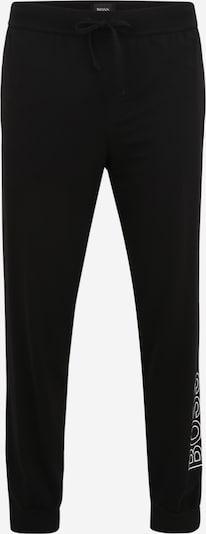 BOSS Casual Панталон пижама в черно / бяло, Преглед на продукта