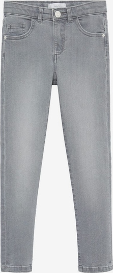 MANGO KIDS Jeans in de kleur Lichtgrijs, Productweergave