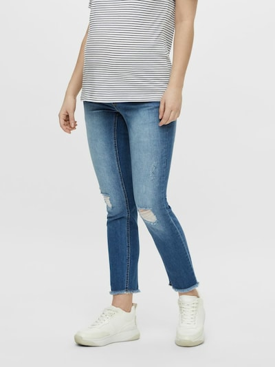 MAMALICIOUS Jeans 'Lila' in Blue denim, View model