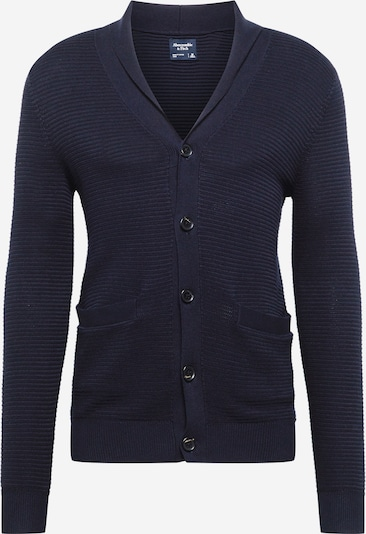 Abercrombie & Fitch Knit cardigan in navy: Frontal view