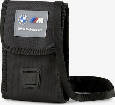 PUMA Schoudertas 'BMW Motorsport' in de kleur Blauw / Grijs / Rood / Zwart / Wit, Productweergave