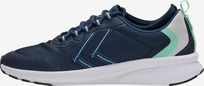 Hummel Baskets basses en bleu foncé / gris / jade, Vue avec produit