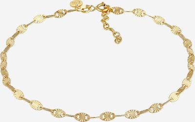 ELLI PREMIUM Fußschmuck Geo in gold, Produktansicht