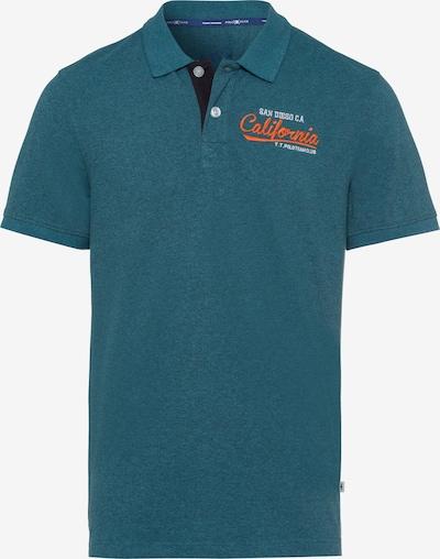 Tom Tailor Polo Team Poloshirt in petrol, Produktansicht