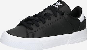 ADIDAS ORIGINALS Platform trainers 'Court Tourino' in Black
