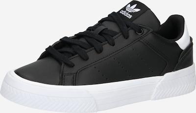 ADIDAS ORIGINALS Platform trainers 'Court Tourino' in Black / White, Item view