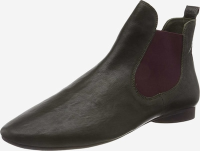 THINK! Chelsea Boots in tanne / lila, Produktansicht