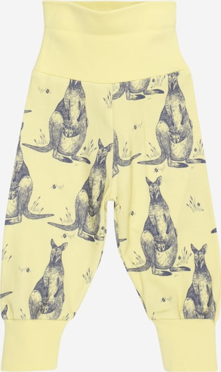 Walkiddy Trousers in light yellow / dark grey, Item view