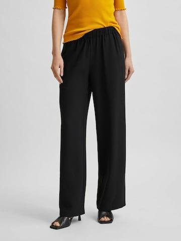 SELECTED FEMME Bukse i svart