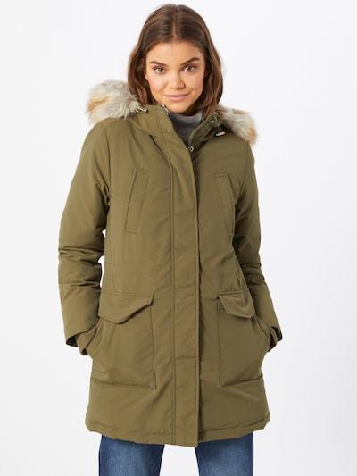 Tommy Jeans Prechodný kabát - olivová, Model/-ka