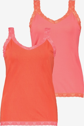 Maglietta intima Ulla Popken di colore rosa chiaro / melone, Visualizzazione prodotti