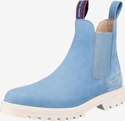 Blue Heeler Boots in hellblau, Produktansicht