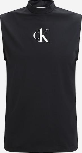 Calvin Klein Swimwear Tričko - černá / bílá, Produkt