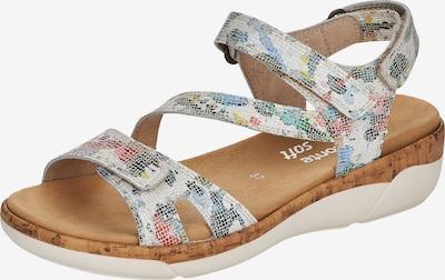 REMONTE Sandale in mischfarben / weiß, Produktansicht