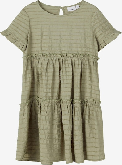 NAME IT Kleid 'Bengrun' in khaki, Produktansicht
