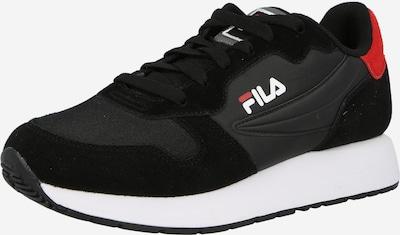 FILA Zemie brīvā laika apavi, krāsa - ugunssarkans / melns / balts, Preces skats