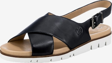 GERRY WEBER SHOES Sandale 'Gulla 01' in Blau