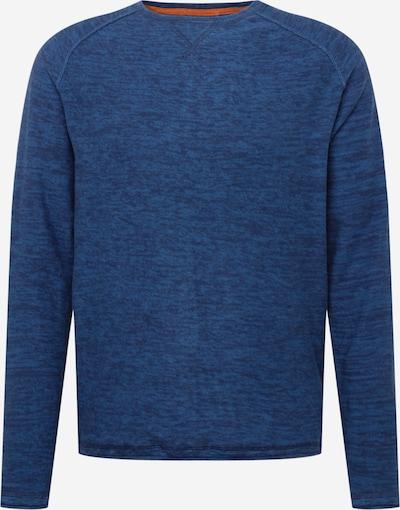 BLEND Trui in de kleur Donkerblauw / Blauw gemêleerd, Productweergave