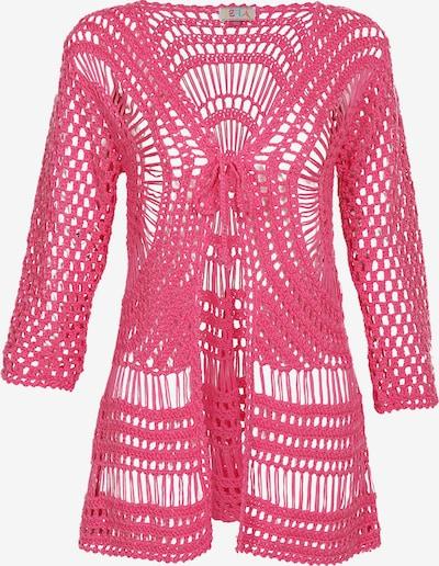 IZIA Häkeljacke in pink, Produktansicht
