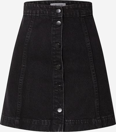 EDITED Rock 'Kathy' in black denim, Produktansicht