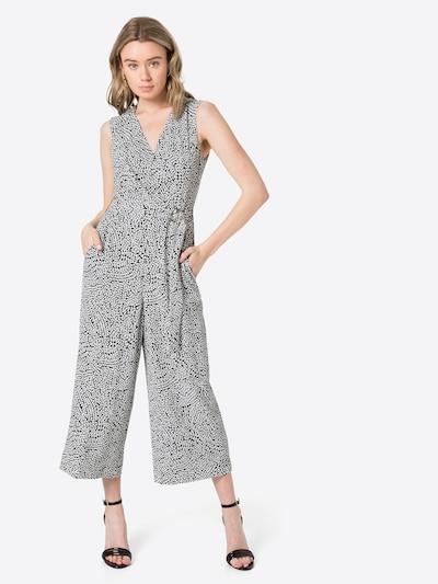 COMMA Jumpsuit in de kleur Zwart / Wit, Modelweergave