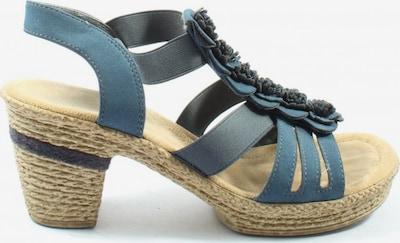 RIEKER Plateau-Sandaletten in 36 in schwarz, Produktansicht