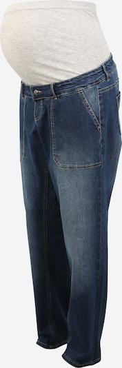 MAMALICIOUS Jean 'BOYFRIEND' en bleu denim, Vue avec produit