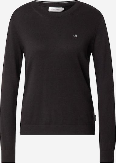 Calvin Klein Pulover | črna / bela barva, Prikaz izdelka