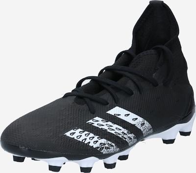 ADIDAS PERFORMANCE Soccer shoe 'PREDATOR FREAK .3 MG' in Black / White, Item view