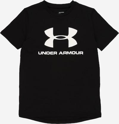 UNDER ARMOUR Funkční tričko - černá / bílá, Produkt